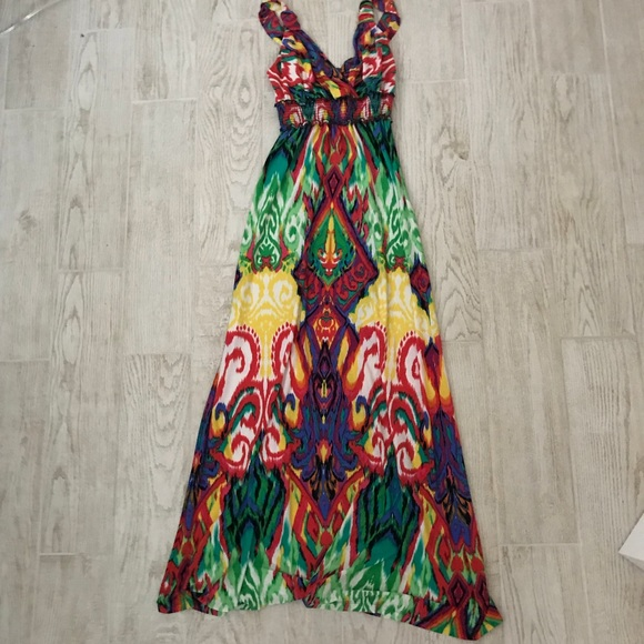 Eci Dresses New York Maxi Dress Size 10 Poshmark